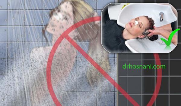 bathing-after-rhinoplasty