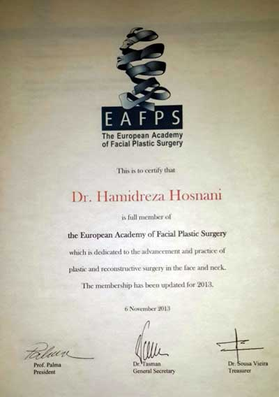academy of European plastic surgeons